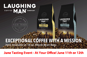 Laughing Man Whole Bean Coffee: EXCEPTIONAL COFFEE WITH A MISSION